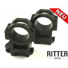 QD Autolock монтаж за 30mm и 25.4mm тяло за Picatinny Rail